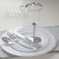 Cheap Plastic Wedding Plates