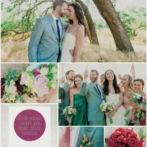 Color Monday Gray And Purple Wedding Ideas