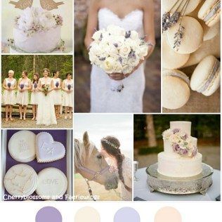 Color Series 18 Lavender Cream – Wedding Blog