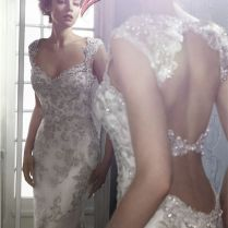 Compare Prices On Silver Wedding Dress