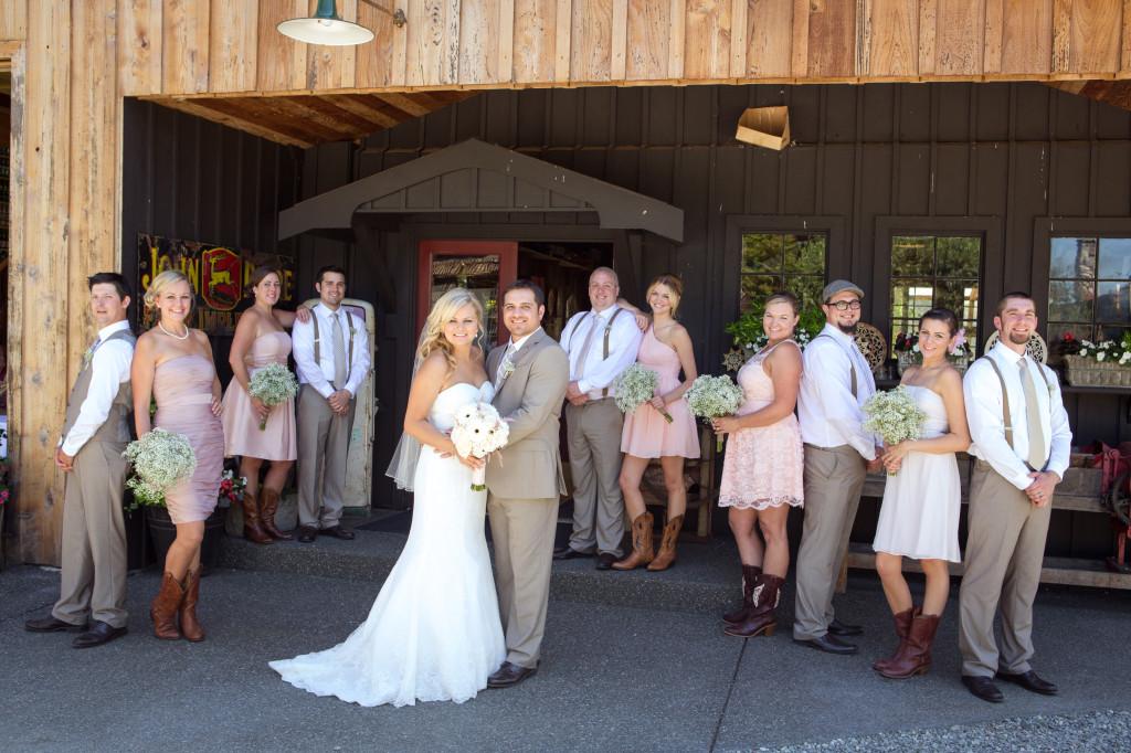 Country Sheek Wedding