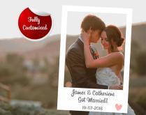 Custom Polaroid Instagram Photo Booth Frame, Wedding Photo Frames
