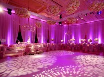 Decorating Wedding Reception With Lights