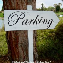 Directional Wedding Signs Parking Sign By Lizzieandcompany