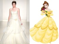 Belle Themed Wedding