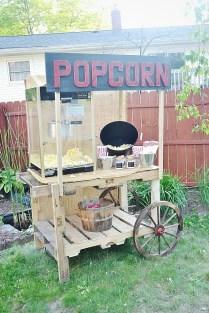 Diy Popcorn Stand