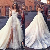 Elegant Galia Lahav Wedding Dresses With Lace Applique 2016