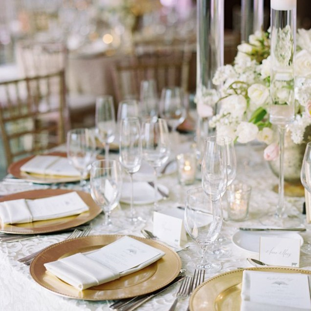 Elegant Gold Wedding Chargers Archives