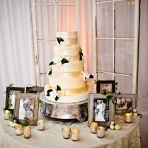 Elegant Outdoor Wedding Cake Table Decorations Archives