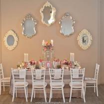 Elegant Vintage Wedding Ideas In Peach & Silver {josie Photography
