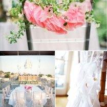 Elegant Wedding Aisle Decorations, Lace Wedding Ceremony Chair