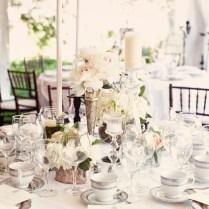 Elegant Wedding Table Centerpieces