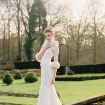 Elegant Winter Bridal Shoot
