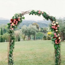 Flower Wedding Arbors And Arches