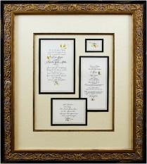 Framed Marriage Invitation