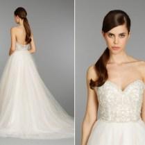 Glitter Tulle Wedding Dress