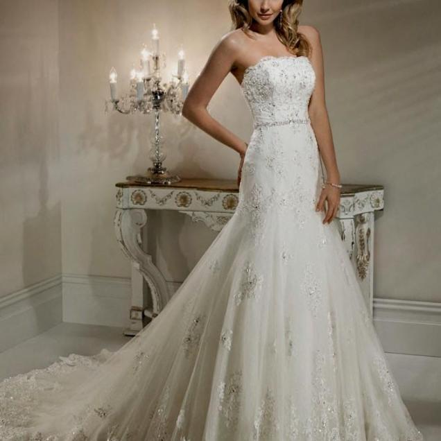 Gorgeous Strapless Wedding Dresses Naf Dresses