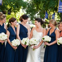 Gray Navy Blue And Gold Wedding