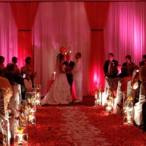 Hot Pink And Black Wedding Decorations