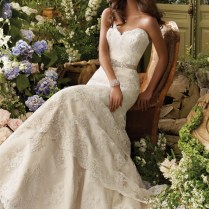 Images Of Strapless Sweetheart Lace Wedding Dress