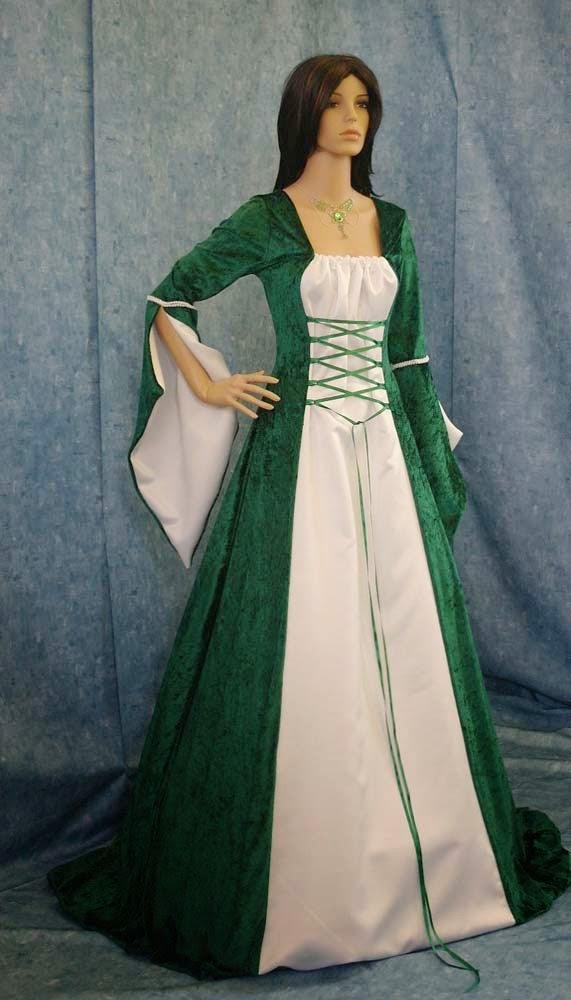 Irish Celtic Wedding Dress
