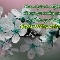 It's Your Twenty Fifth Wedding Anniversary