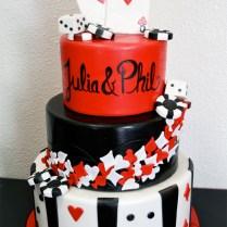 Las Vegas Themed Wedding Cakes On Wedding Cakes With Las Vegas