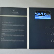 Lcd Video Greeting Brochure Card For Business Promotion