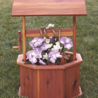 Made Of Wood Garden Planters