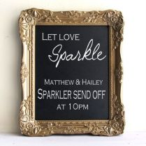 Memorable Wedding Signs That Do The Talking For You