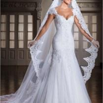 Mermaid Style Corset Wedding Dress