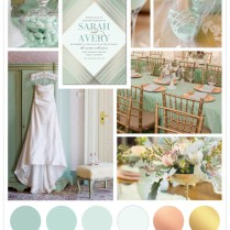 Mint Green Wedding Ideas With Gold