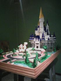 My Cinderella Castle Wedding Cake!