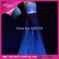 Newest Wedding Gown Glow In The Dark Wedding Dresses Amazing Gown