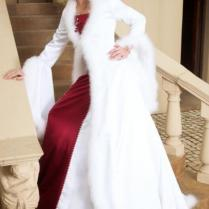 Online Buy Wholesale Fur Trimmed Wedding Dresses From China Fur