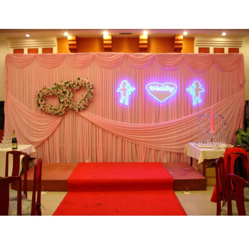 Wedding Stage Backdrop Decoration