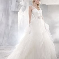 Organza And Tulle Wedding Dress