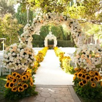 Outdoor Wedding Altar Decoration Ideas Outdoor Wedding