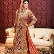 Pakistani Bridal Lehenga Dresses Designs & Styles 2016