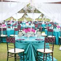 Pink And Turquoise Wedding Theme Ideas