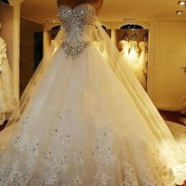 Popular Expensive Wedding Dress Gown