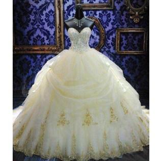 Popular Silver Wedding Gowns