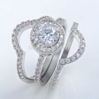 Triple Band Wedding Ring