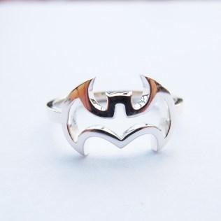 Popular Womans Batman Wedding Ring