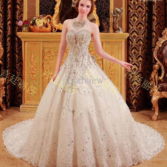 Princess Wedding Gowns With Sparkles
