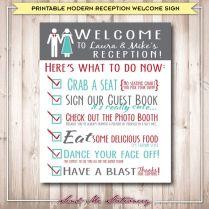 Reception Signs Wedding
