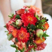 Red, White & Gold Glitter Wedding Inspiration