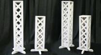 Rent Lattice Wedding Pillars Large & Small Iowa City, Cr, Qc, Ia