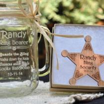 Ring Bearer Gift Set, Junior Groomsman Gift, Personalized Ring
