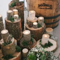 Rustic Country Wedding Decorations Rustic Wedding Ideas Hitching